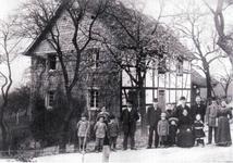 Foto aus dem Jahre 1917 von dem Haus Maylahn, Kattwinkel, das um 1880 erbaut wurde.