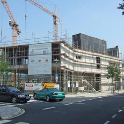Bau Hauptgebäude Lohmarer Höfe Foto Morich