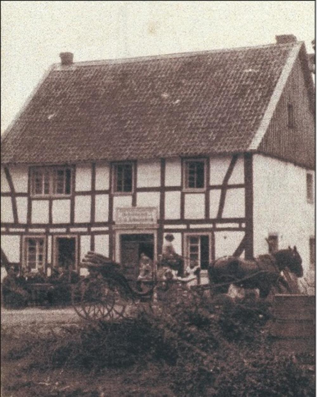 Gaststätte Schwamborn (Fischer) 1890