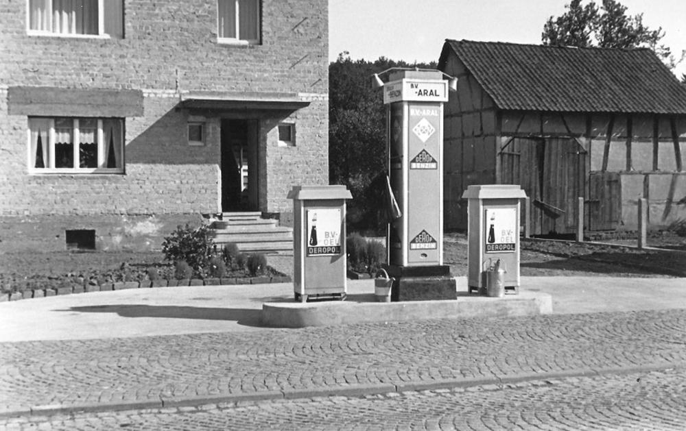 Tankstelle 1936