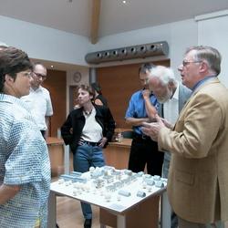 Präsentation Modell Schulte Wohnbau im Rathaus Foto Morich