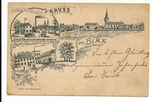 Postkartenrückseite