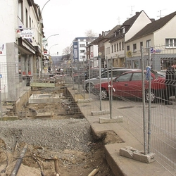 Baustelle März 2005