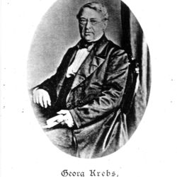 Pfarrer Georg-Friederich Krebs 1841 -1864