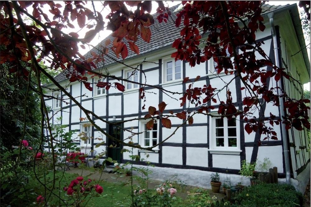 Münchhof 47 Wohnsitz der Verwalter des  Münchhofes und Stammhaus der Familie Schmitz