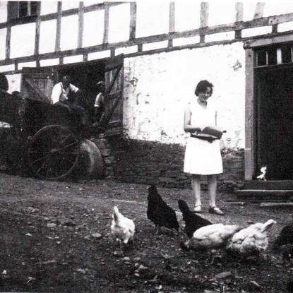 Die Bachermühle Anfang der 1930er Jahre