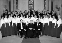 29. April 1972 mit feierlichem Hochamt und Festkonzert in der Aula der Waldschule zum 90 jährigen