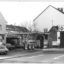 Tankstelle 1960er Jahre