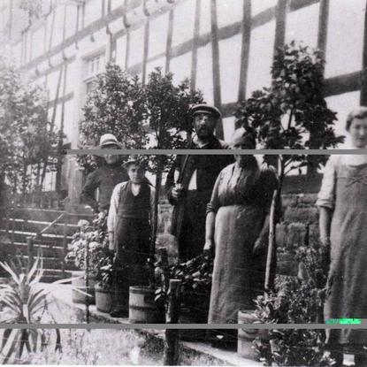 Brückerhof um 1919