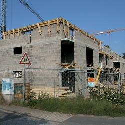 Bauphase  Schulte Wohnbau Foto Morich