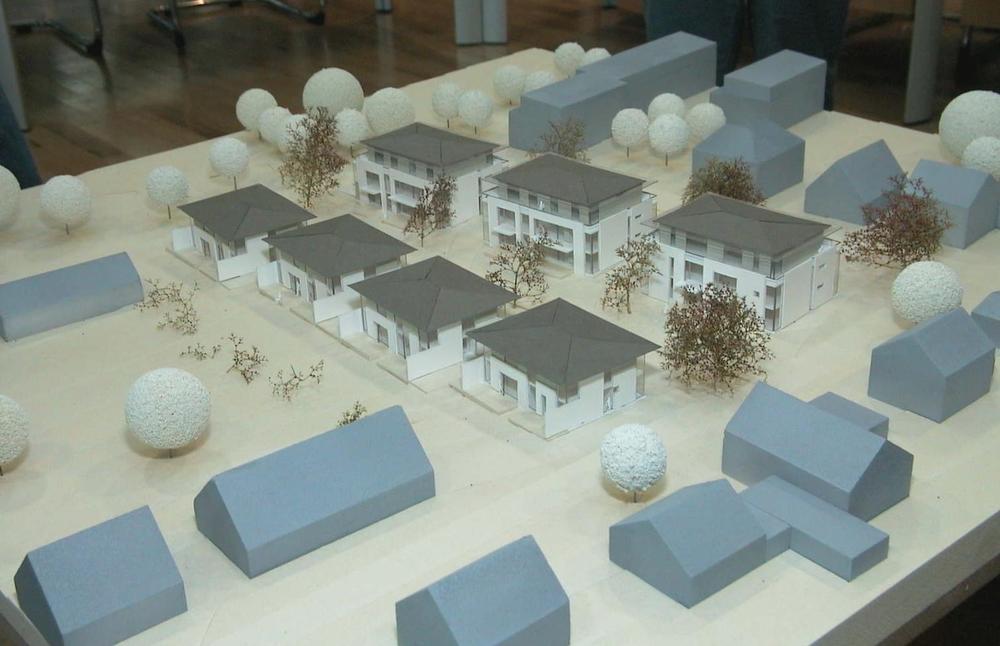 Modell Wohnbau Schulte Foto Morich