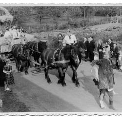 Erntezug 1949
