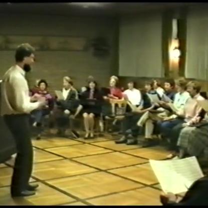 Singgemeinschaft Birk mit Rolf Pohle 1989