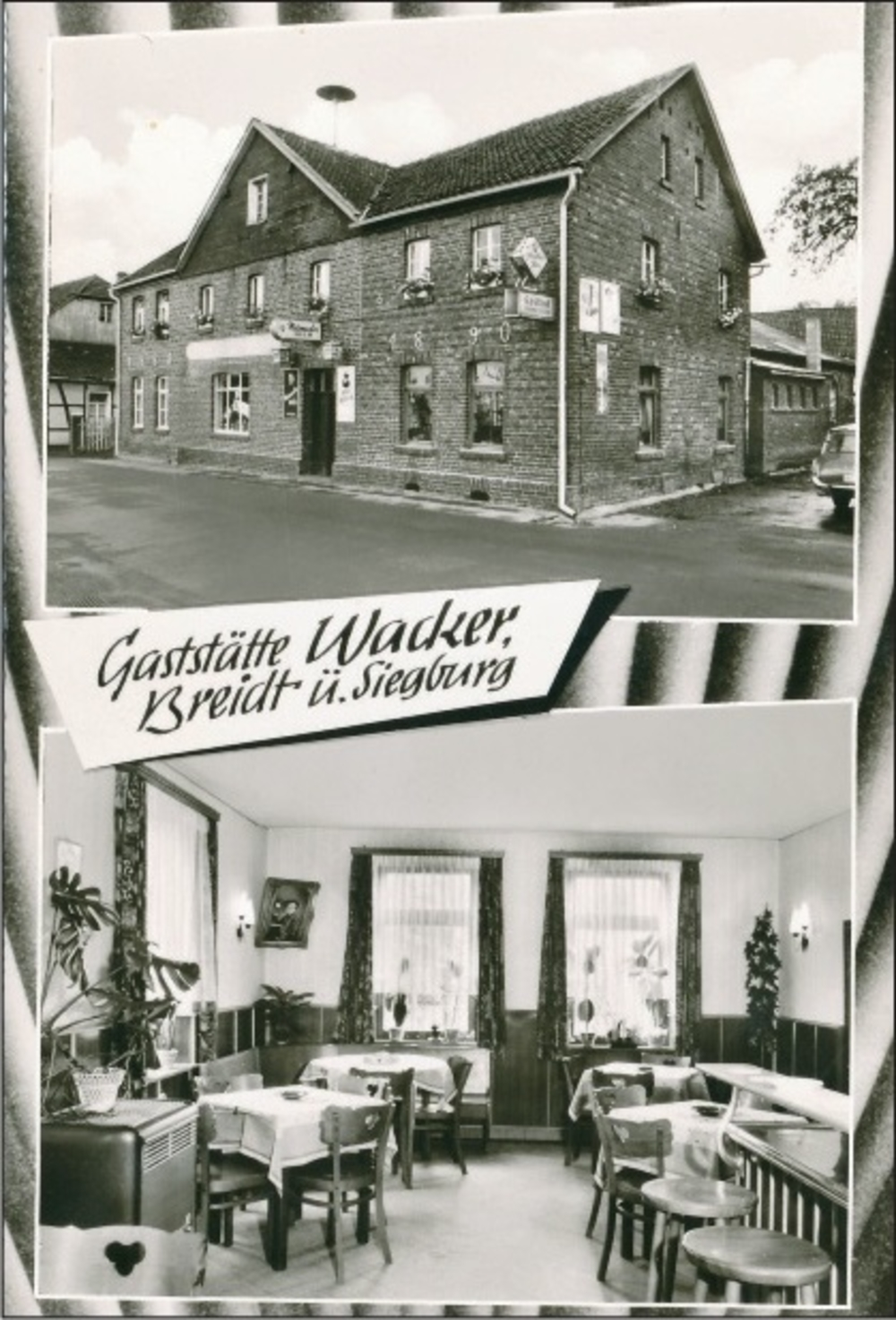 Gaststätte Wacker 1960er