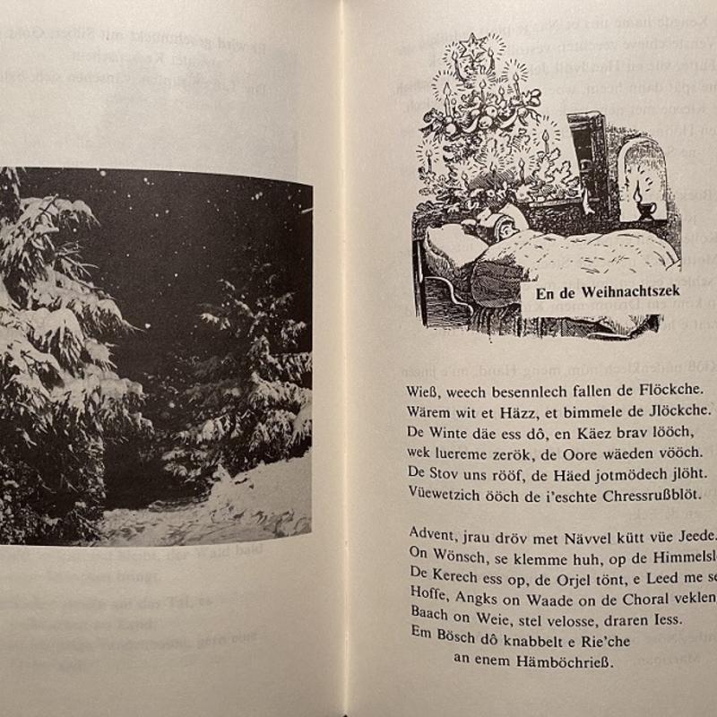"""""""En de Weihnachtszeg"""" aus dem Buch """"Heimatliche Winterzeit - Erinnerungen"""""""