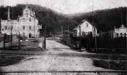 """Aggerhütte – auch """"Knochemöll"""" und Buchwerk genannt – vor dem 1. Weltkrieg."""