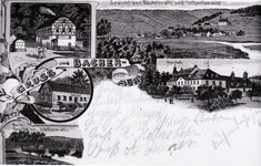 Postkarte von Bachermühle/Neuhonrath/Schachenauel vom 28.10.1912