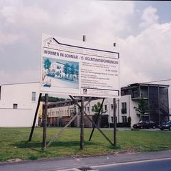 Bauschild GWG Troisdorf Foto Morich
