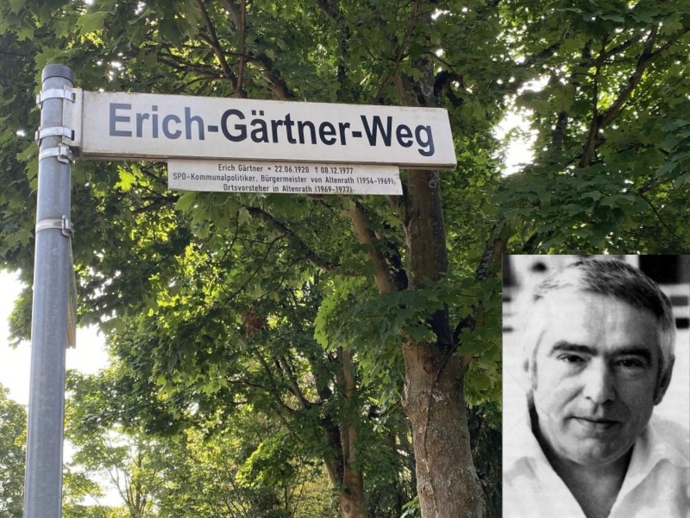 Erich Gärtner, verdienstvoller Altenrather Bürgermeister von 1956 bis 1969.