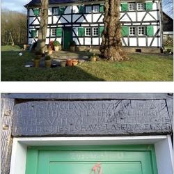 Haus Büchel, Karpenbachweg 36 Das Haus (Baujahr 1789) ist mit einem Bruchsteinkeller teilunterkellert. Es besteht noch ein historischer Brunnen aus dem 16. Jahrhundert sieben Meter tief.