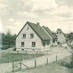"""Am Bungert 1957/58, nördlich neben """"Kudla"""""""