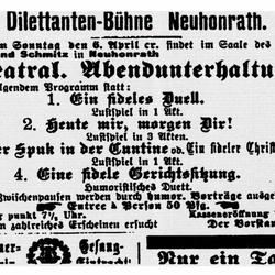 Siegburger Kreisblatt 5.4.1902