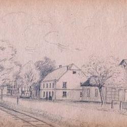 """Bauernhof """"Zur Jabach"""" in Lohmar, Pächter war Landwirt Rinsche"""