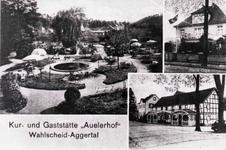 """Kurgarten der """"Kur- und Gaststätte Auelerhof"""""""