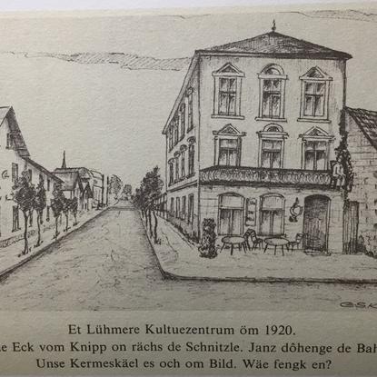 Zeichnung von Günter S. Klein