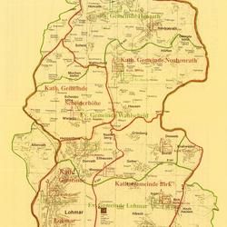 Grenzen der Kirchengemeinden, Info-Brief 1989