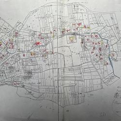 Urflurkarte von 1823 ; Bürgermeisterei und Gemeinde Lohmar, Flur III