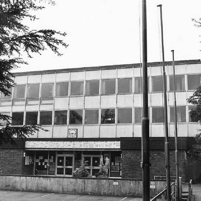 Neues Rathaus Lohmar 1966