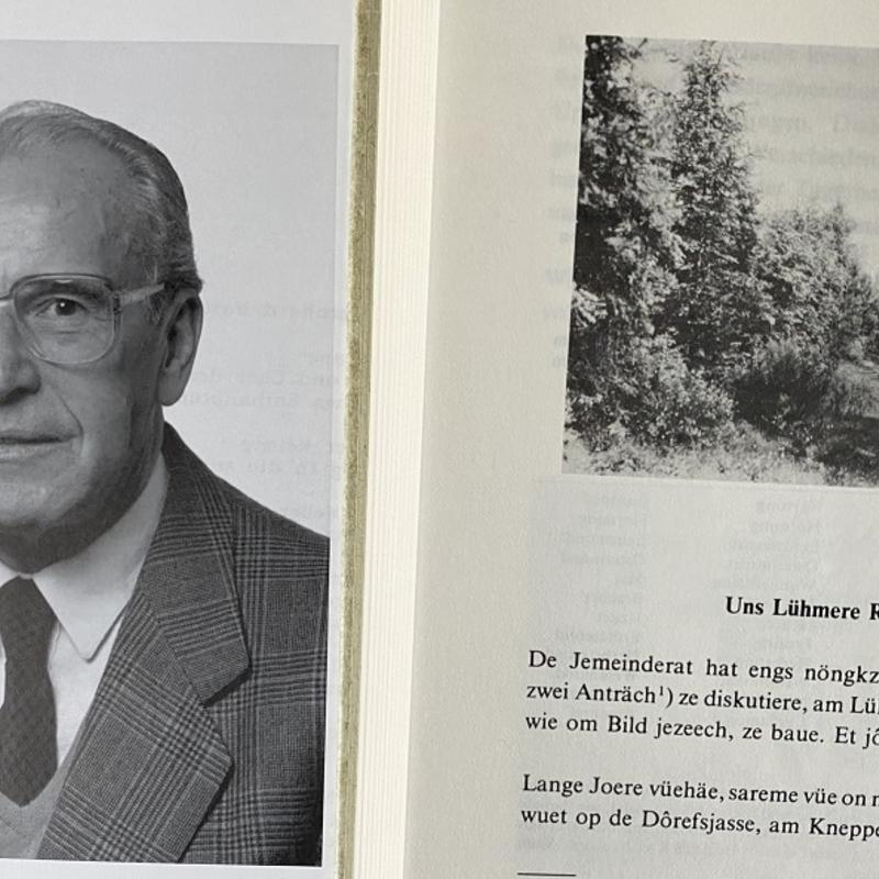 Bernhard Walterscheid-Müller (1918 - 1991) Unternehmer, Ehrenbürger, Vorsitzender und Ehrenvorsitzender des HGV Lohmar