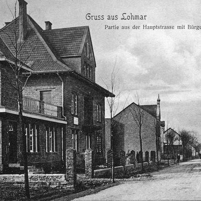 Postkarte 1910
