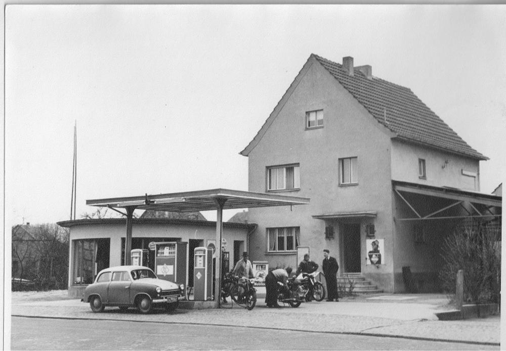 Tankstelle 1938