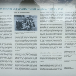 Gedenktafel Kriegsgräberfeld Friedhof Lohmar