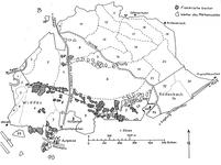 Karte Gemarkenwald 1836