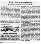 Presseartikel der Kölnischen Rundschau