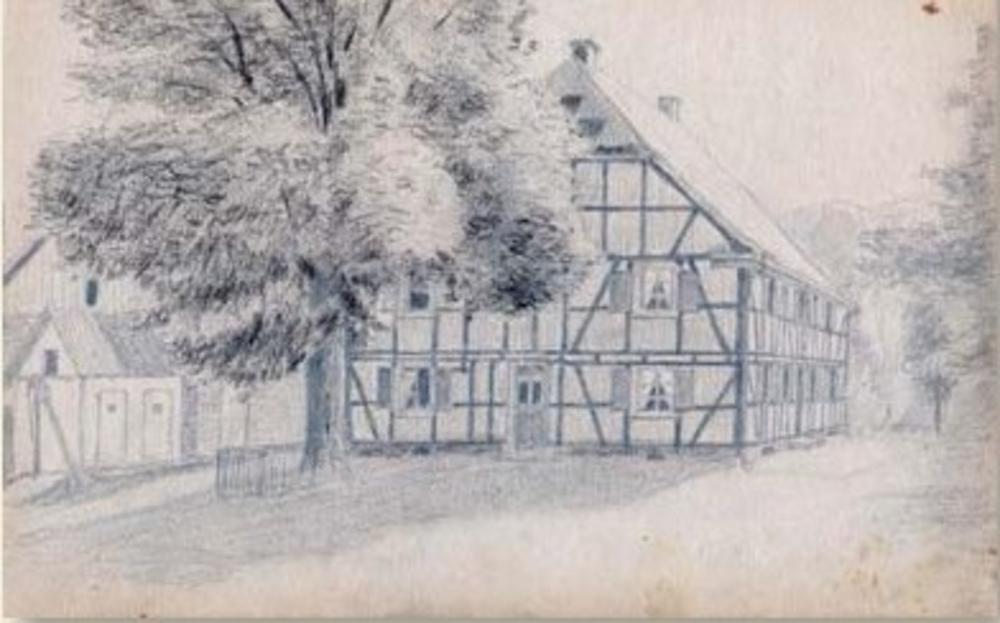 Ehemaliges Gasthaus Weeg in Scheiderhöhe