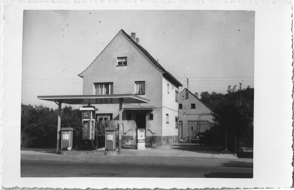Tankstelle 1937