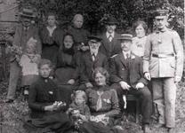 Bild von ca. 1916 der Familie Hohn in Mackenbach