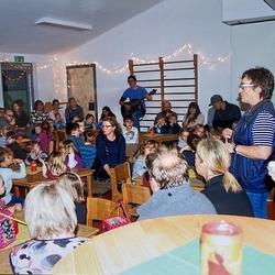 Im Kindergarten 2014 rechts stehend Ursula Muß