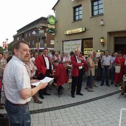 """""""Trauerrede"""" mit Norbert Muskatewitz, verfasst von Gunter Führitz Foto Morich"""