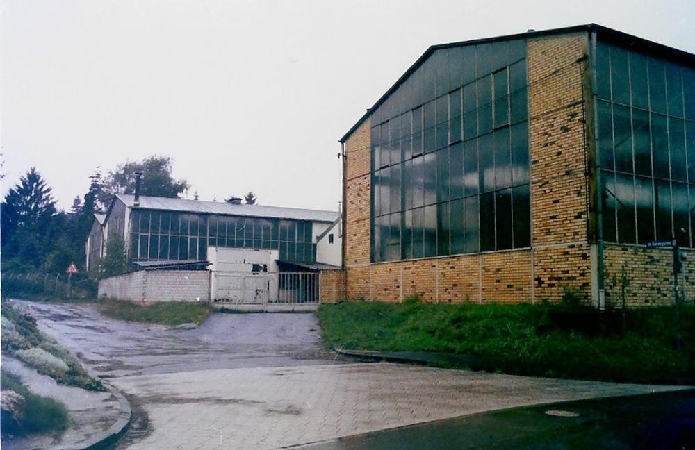 Hallen Ecke Schmiedgasse/Im Korresgarten Foto Morich
