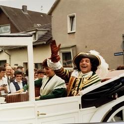 Karl-Josef und Magdalena Kappes als Jan und Griet. Karl-Josef war 1985 Kölner Karnevalsprinz.